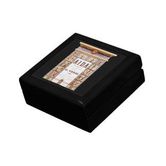 Vintage Opera Music, Egyptian Aida by Verdi Small Square Gift Box