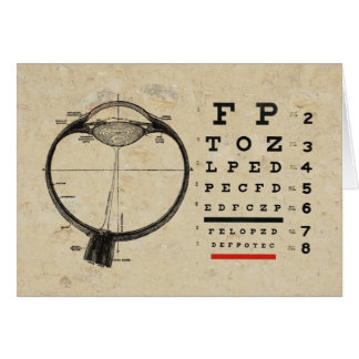 Vintage Ophthalmologist Card