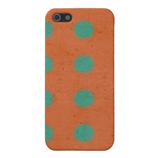 Vintage Orange iPhone 4 Case