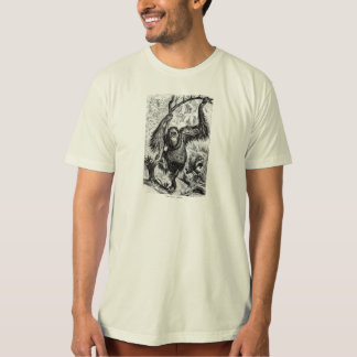 Vintage Orangutan Illustration - 1800's Monkey T-Shirt