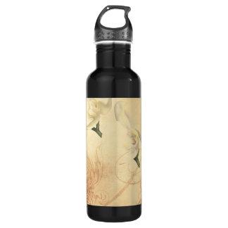 Vintage Orchid Background 710 Ml Water Bottle