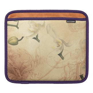 Vintage Orchid Background iPad Sleeve
