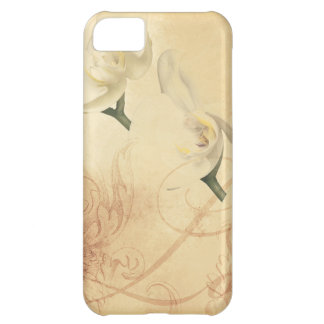 Vintage Orchid Background iPhone 5C Case