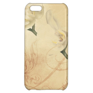 Vintage Orchid Background iPhone 5C Cover