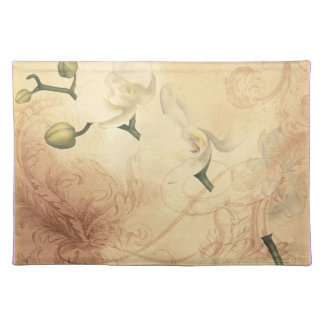 Vintage Orchid Background Placemat