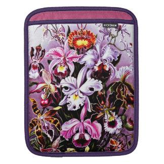 Vintage Orchid Floral art iPad Sleeve