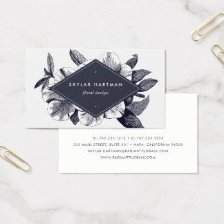 Vintage Orchid | Floral Business Card