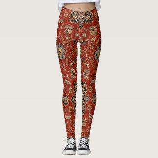Vintage Oriental Persian Rug Leggings