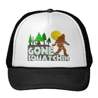 Vintage Original Gone Squatchin Design Hat