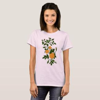 Vintage Ornamental Yellow Rose T-Shirt