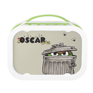 Vintage Oscar in Trash Can Lunch Box