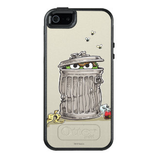 Vintage Oscar in Trash Can OtterBox iPhone 5/5s/SE Case