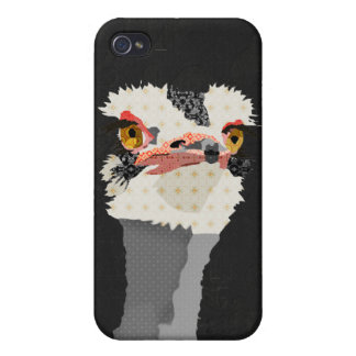 Vintage Ostrich iPhone Case iPhone 4 Cover