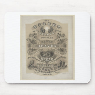 Vintage Our Father Prayer Mouse Pad