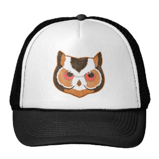 Vintage Owl Trucker Hats
