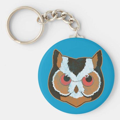 Vintage Owl Key Chain