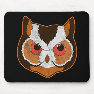 Vintage Owl Mouse Pads