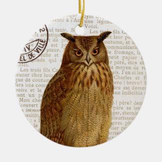 Vintage Owl...ornament