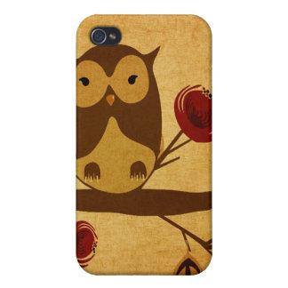 Vintage owl Speck Case iPhone 4 Cases