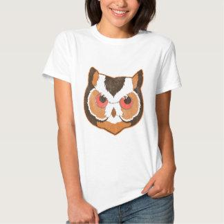 Vintage Owl Tshirts
