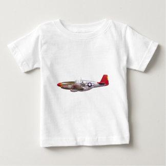 Vintage P-51 Mustang Tuskegee Airmen World War II Baby T-Shirt
