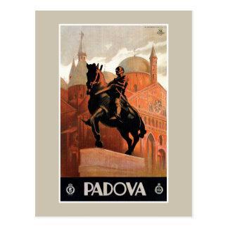 Vintage Padua Padova Italian travel Postcard
