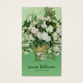 Vintage Painting Floral Designer Flower Stylist Business Card