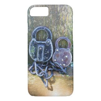 Vintage Pair of Locks Art iPhone 7 Case