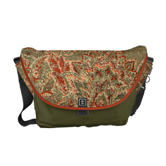 Vintage Paisley Courier Bags
