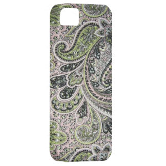 Vintage Paisley Pink Sage Case-Mate iPhone 5