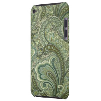 Vintage Paisley Sage Case-Mate iPod Touch Barely There iPod Covers