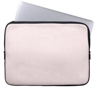Vintage Pale Pink Color Trend Blank Template Laptop Computer Sleeves