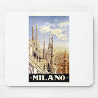 Vintage Palermo Travel Mouse Pad