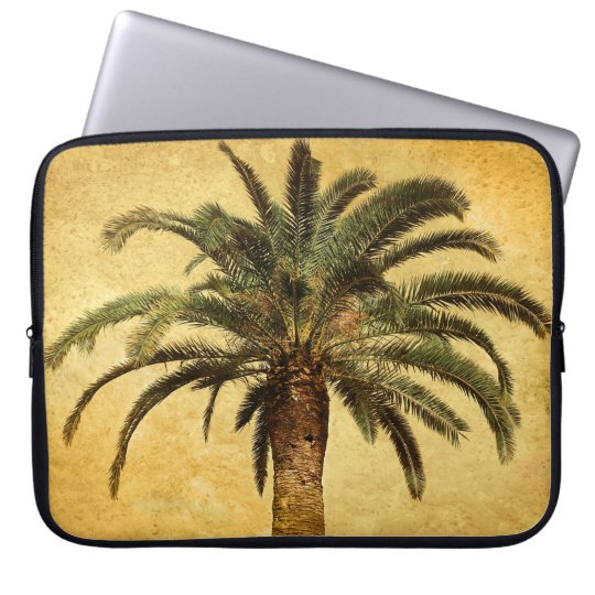Vintage Palm Tree - Tropical Customised Template Laptop Sleeve
