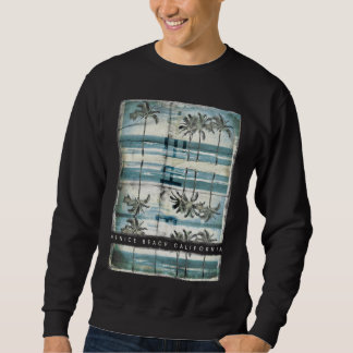 Vintage Palm Tree Venice  Beach Sweatshirt
