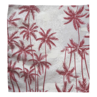 Vintage palm trees bandana