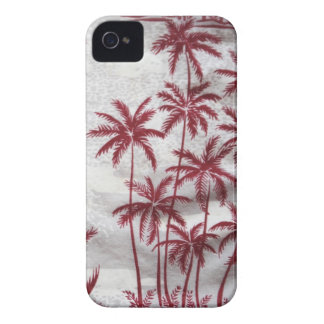 vintage palm trees Blackberry barely there case iPhone 4 Case