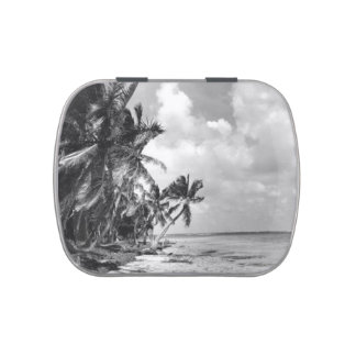 Vintage Palm Trees Candy Tin