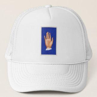 Vintage Palmistry Hand, Long Hands Trucker Hat