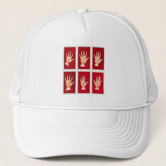Vintage Palmistry Hands Chirology Trucker Hat