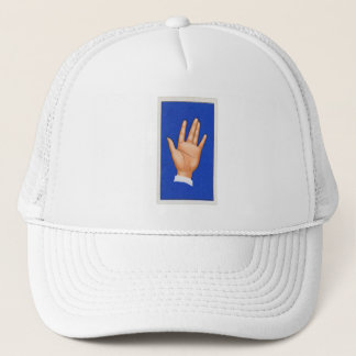Vintage Palmistry Palm The Triangle Trucker Hat