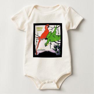 Vintage Panama Canal Travel Baby Bodysuit