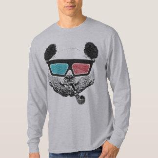 Vintage panda 3-D glasses Tshirts