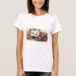 Vintage Pansies Women's Hanes Comfort Soft T-Shirt