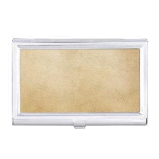 Vintage Paper Antique Gold Parchment Background Business Card Holder