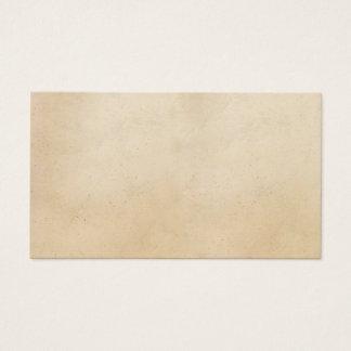 Vintage Paper Antique ParchmentTemplate Blank Business Card