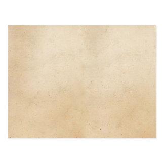 Vintage Paper Antique ParchmentTemplate Blank Postcard