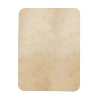 Vintage Paper Antique ParchmentTemplate Blank Rectangular Photo Magnet