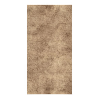 Vintage Paper Parchment Paper Template Blank Custom Photo Card