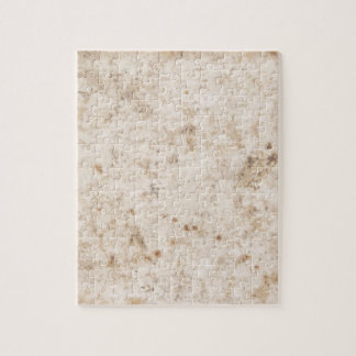 Vintage paper texture bugged jigsaw puzzle